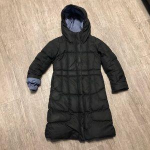 Patagonia Girls Black Down Coat